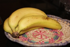 Fruit: bananas