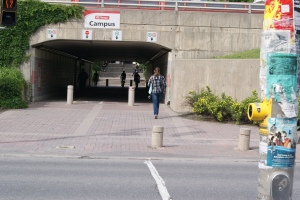 U of Ottawa underpass
